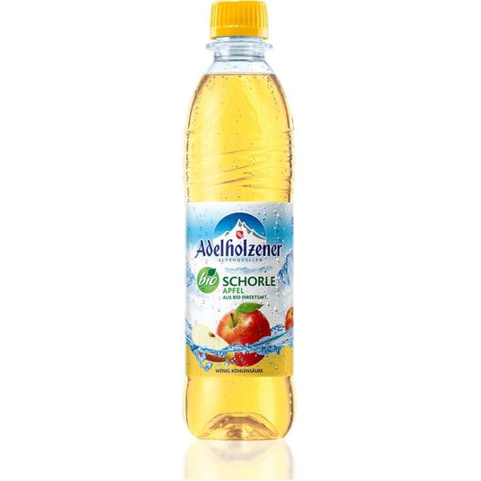 Adelholzener Bio Schorle Apfel (Bio)
