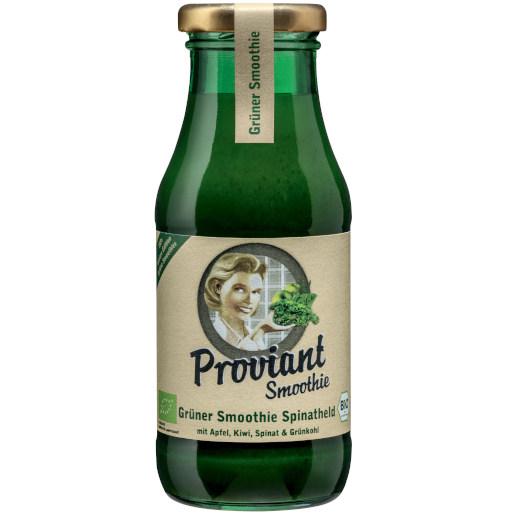 gut im Test von Stiftung Warentest 3/2021: Proviant Grüner Smoothie Spinatheld