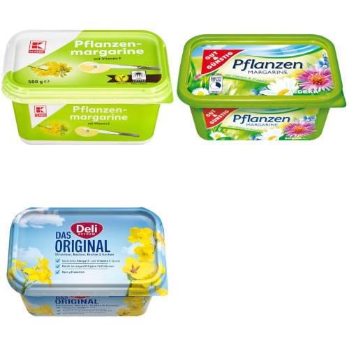 """""""gut"""" im Test von Stiftung Warentest und Öko-Test: Margarine"""