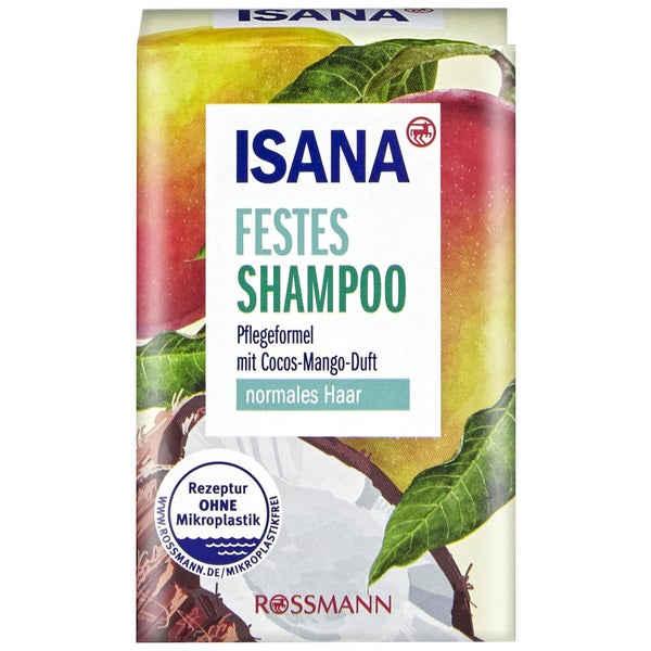 sehr gut im Test von Öko-Test 9/2020: Isana Festes Shampoo Cocos-Mango-Duft (Rossmann)