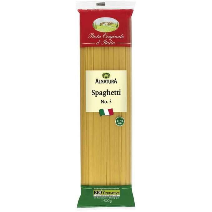 sehr gut im Test von Öko-Test 02/2021: Alnatura Spaghetti No. 3