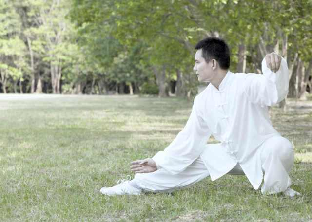 asian man performing kung fu outdoor | types of martial arts | types of martial arts self defense | all types of martial arts