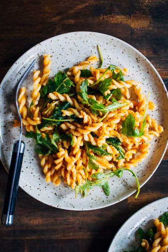 Autumn Pumpkin Pasta | Well and Full | #vegan #pumpkin #pasta