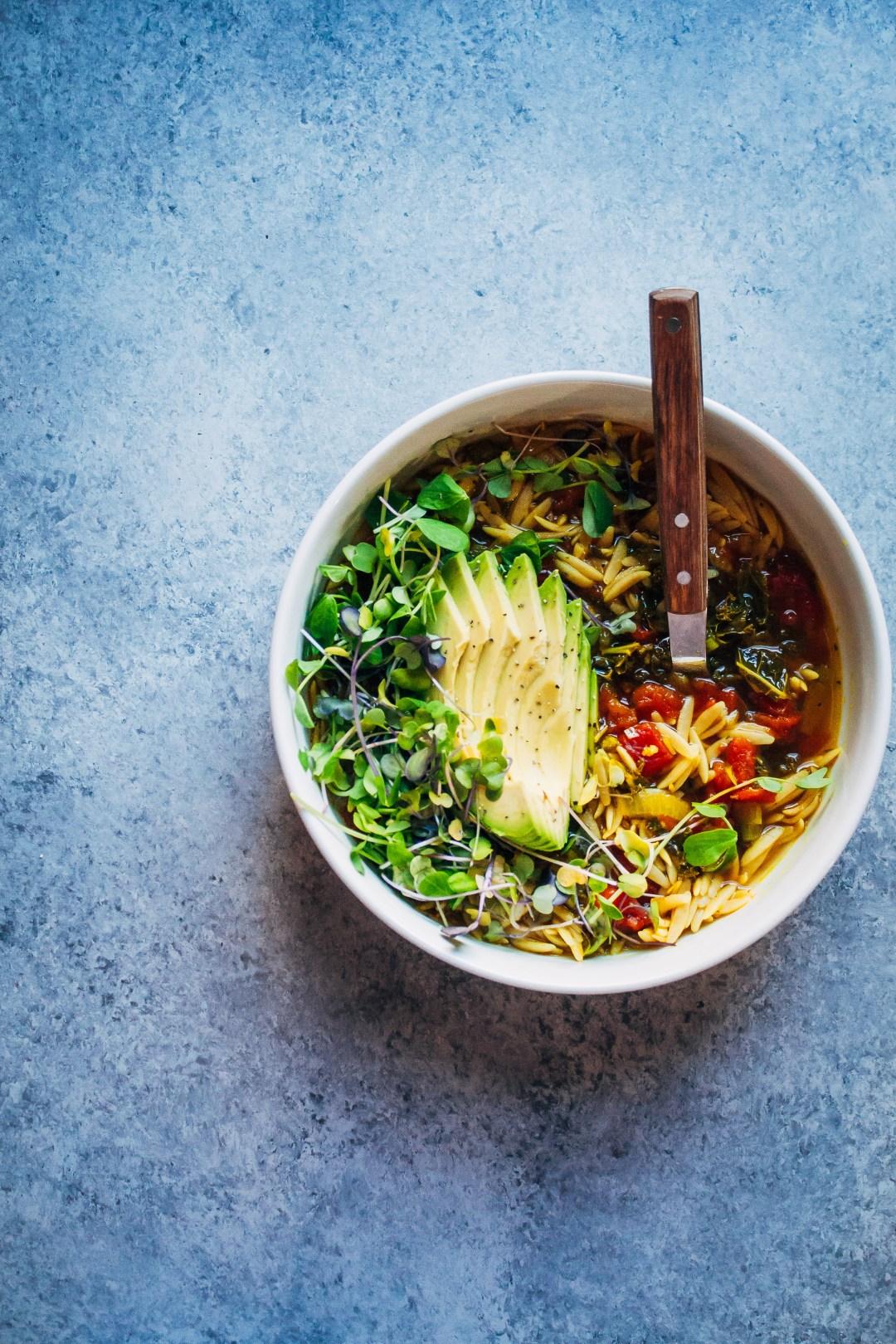 Feel Better Soup | Well and Full | #vegan #soup #recipe