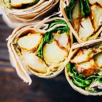 Easy Vegan Potato Wraps