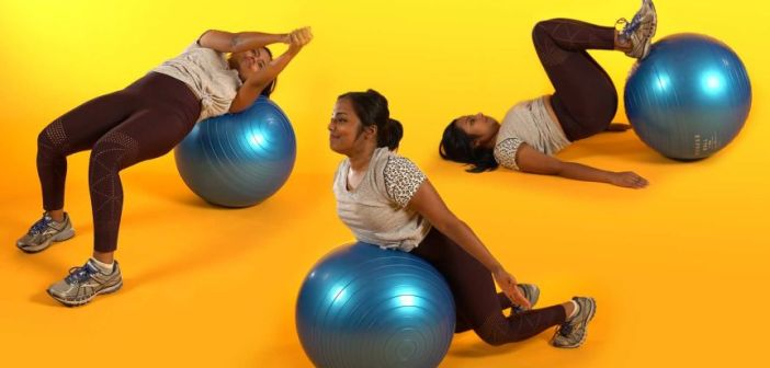 9 Easy Ball Workouts for Toned, Sexy Legs and Abs