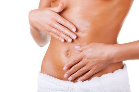 massage your loose skin after weight loss