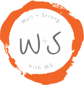 Well and Strong with MS Logo