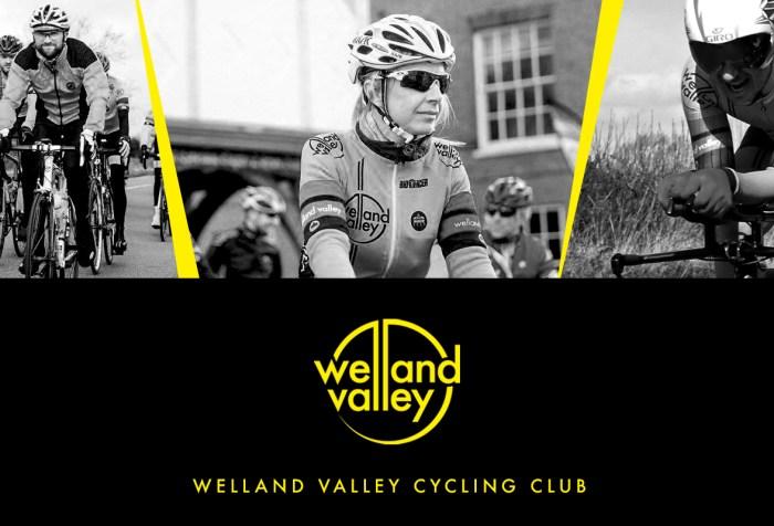 Welland Valley Cycling Club website header
