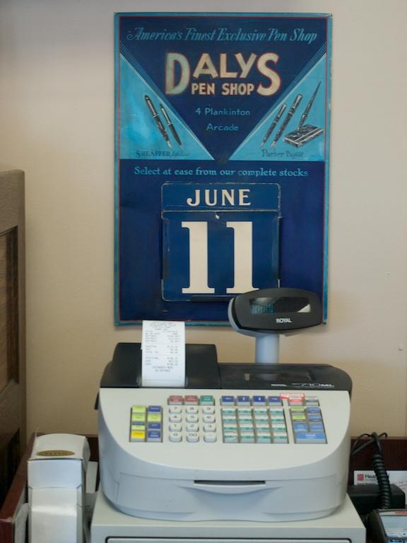Daly's Pen Shop Calendar