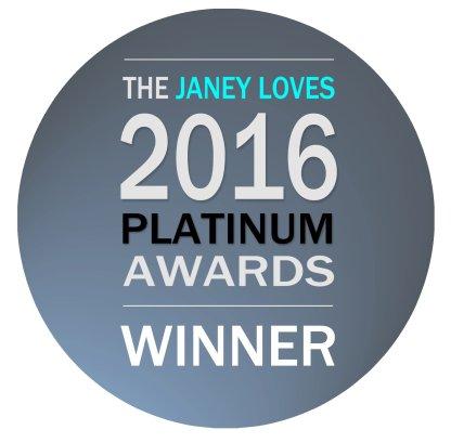 Janey Loves 2016 Platinum Winner Shui Me Purity