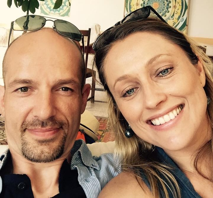 Zach and Gosia Founders - Wellbeing in your office