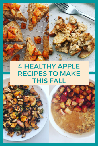 4 healthy apple recipes to make this Fall