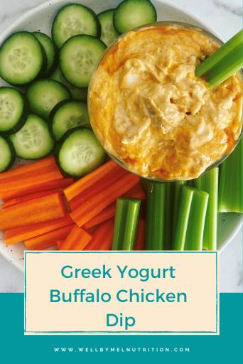 greek yogurt buffalo chicken dip