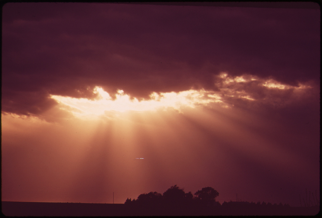 sun and clouds photo