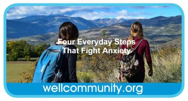 Four Everyday Steps That Fight Anxiety
