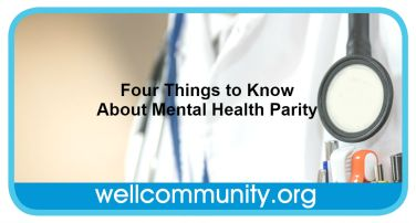 Four Things to Know About Mental Health Parity
