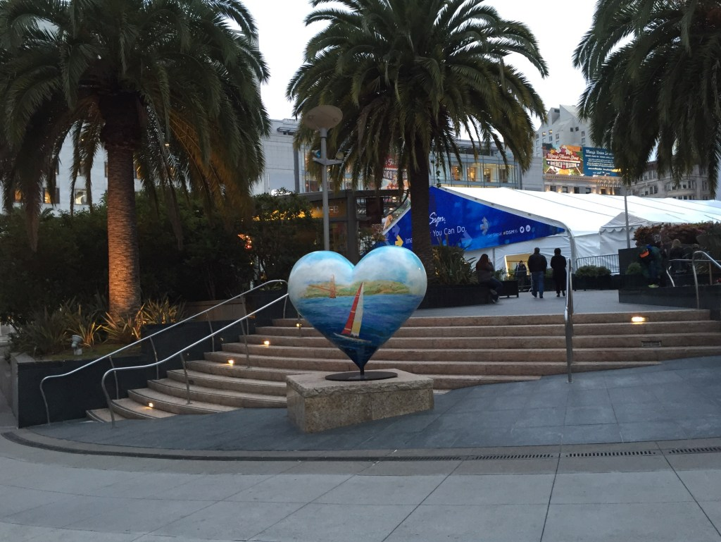 at Union Square in SF