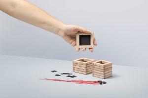 Zestaw magnetycznych ramek na zdjęcia