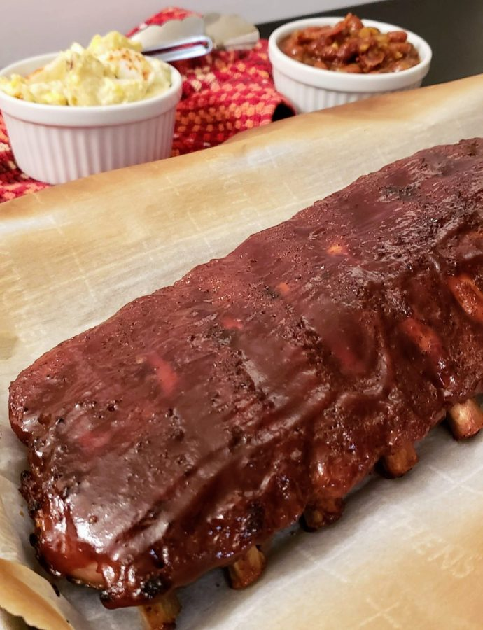SWEET HEAT DRY RUB OVEN BAKED RIBS