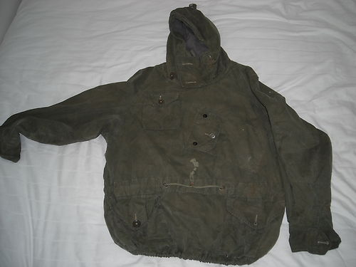 A ventile smock used by the SAS (Special Air Service)