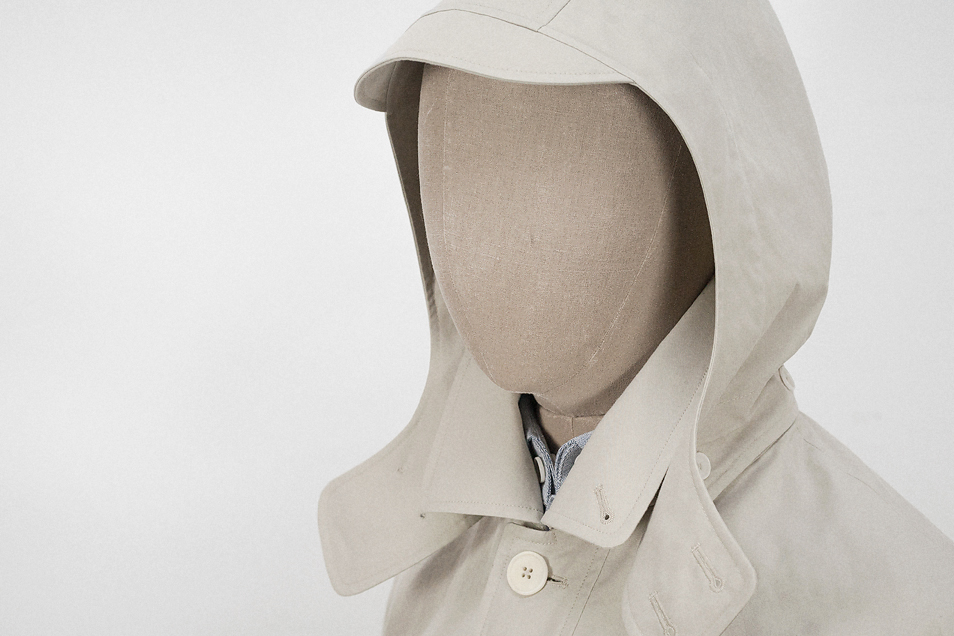A modern ventile jacket by London makers SEH Kelly.
