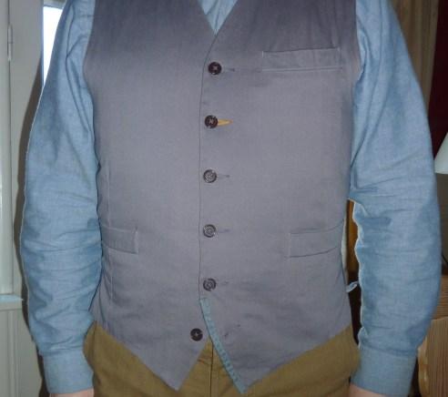 universal works waistcoat