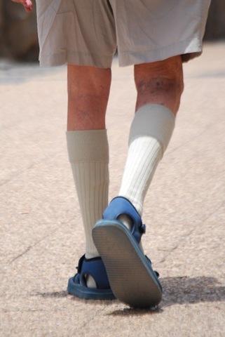 Long Socks and shorts