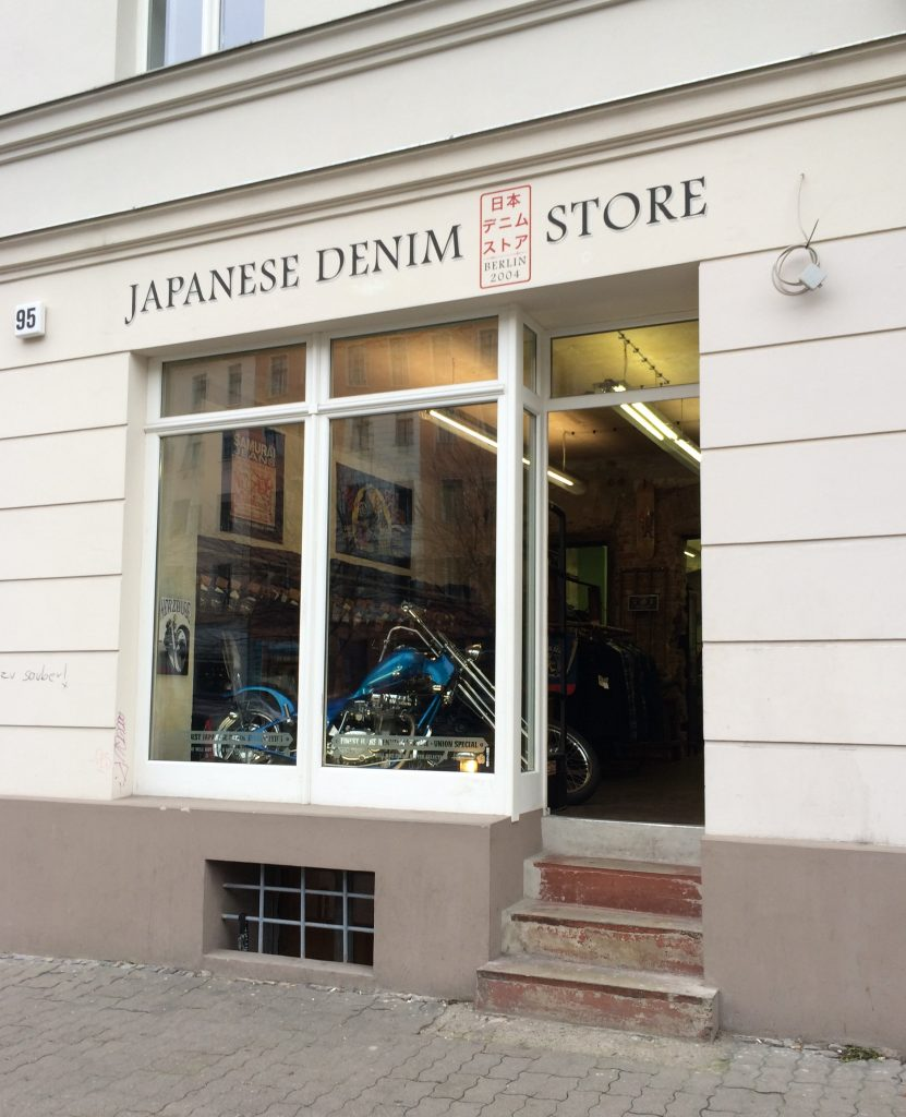 DC4 Berlin, home of serious Japanese denim in Berlin