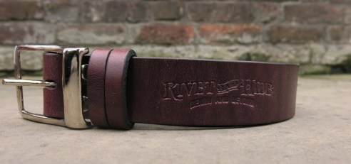 rivet and hide belt
