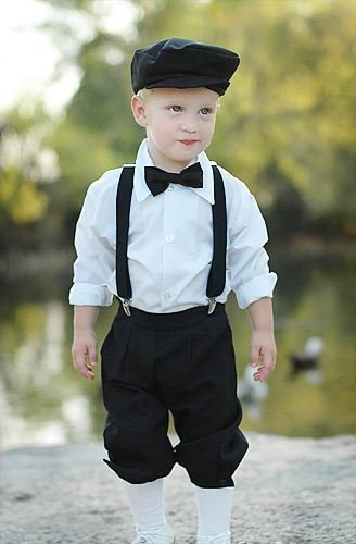 A very dapper wee chap, carefully dressed up by his mother. One day he will rue the day this photo was taken.