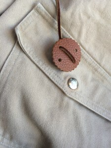 The Monitaly field jacket in it's orignal, unmolested khaki colour.