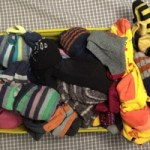 Find inner happiness through folding your socks