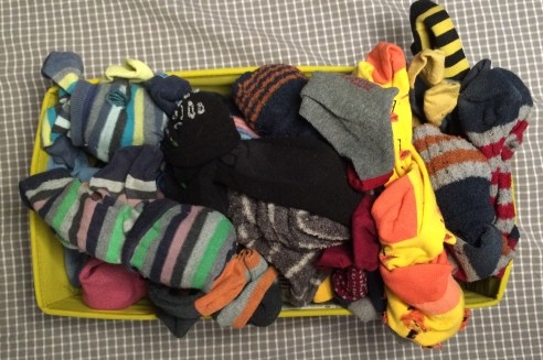 Pre-enlightenment sock archive.