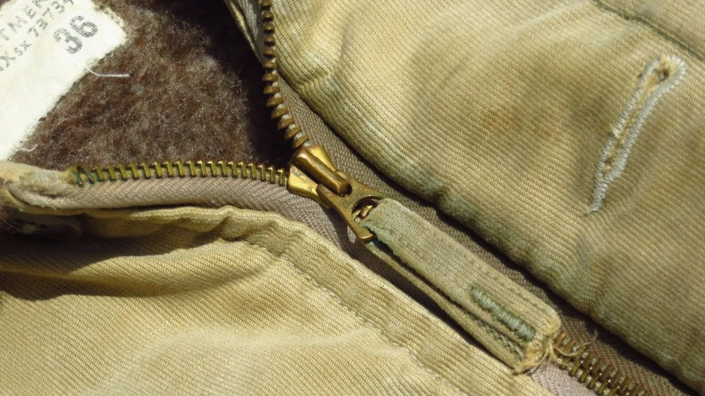 An original deck jacket in good condition can fetch a high price among those that appreciate originality.