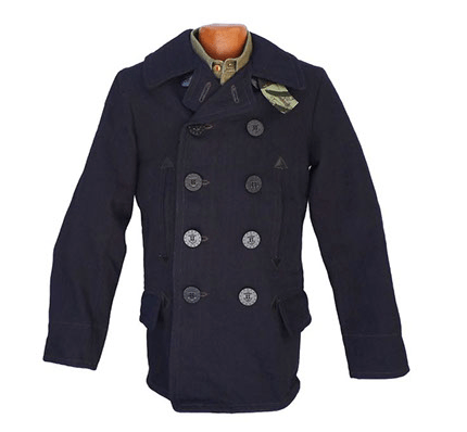 The Caban pea coat by Mister Freedom.