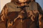 Adventures in stealth - the camo dufflecoat by London Tradition