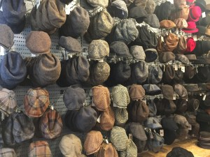 Another wall of hats.