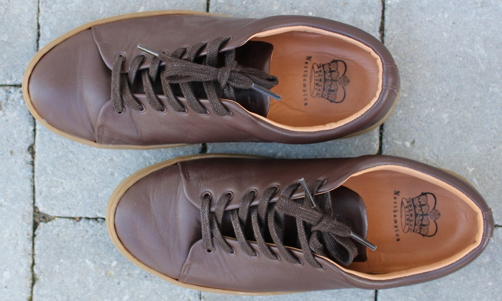 38636b5349ca Crown sneakers handmade in Northampton Great Britains home of shoes