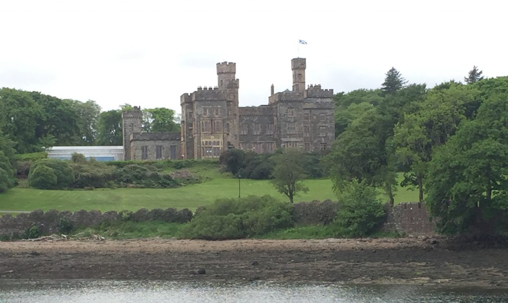 Stornoway castle has been renovated to former glory and is open for guests.