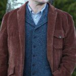 """When corduroy comes as a surprise – The Peter Christian """"Soft corduroy jacket"""""""