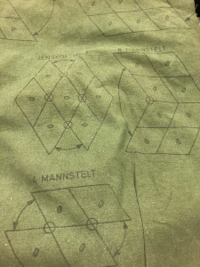 Part of the tactical tent assembly instructions.