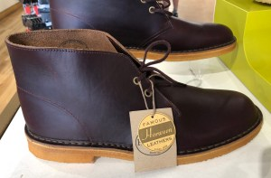 Another very large Clarks shoe.