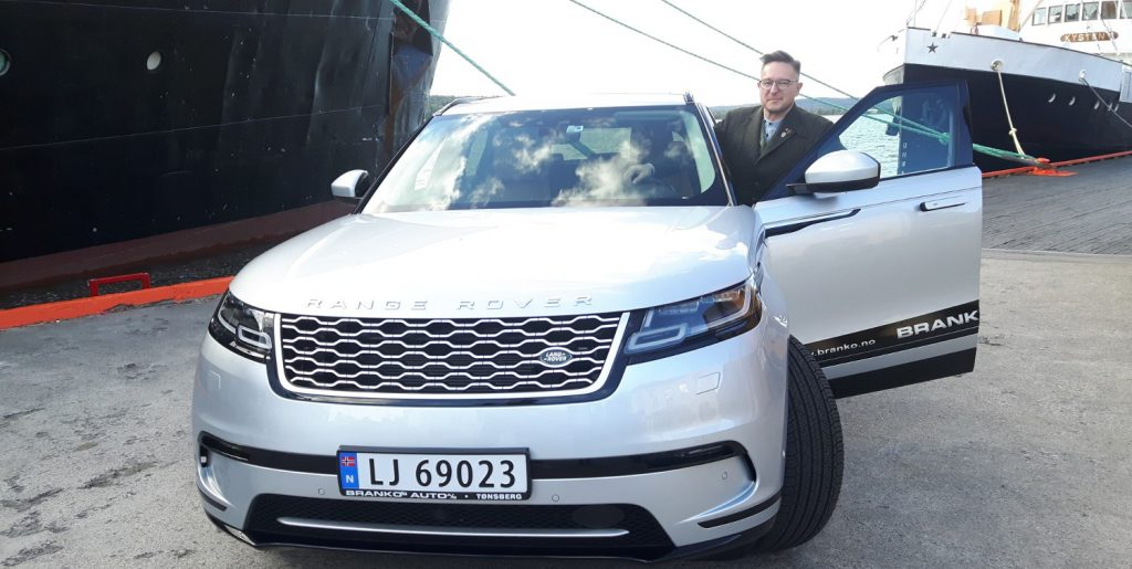 A quick ride in a new Range Rover Velar from Branko's Auto.