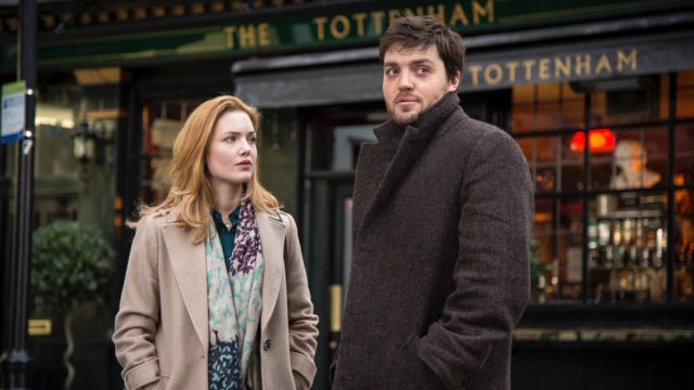 Cormoran Strike, Robin and that tweed coat.