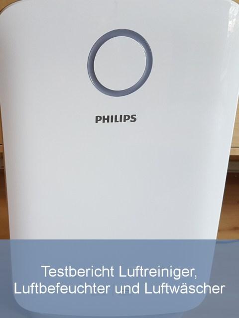 Philips-Luftreiniger-und-Luftbefeuchter-Kombigerät