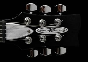 Weller-Guitar-Stageliner-Black-head-shot