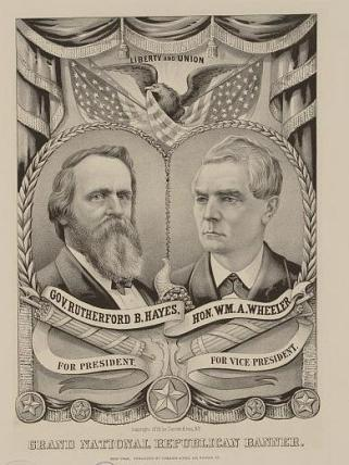 Hayes Campaign Poster (Source: Harper's Weekly)