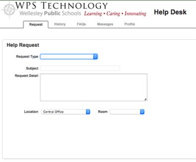 HelpDesk Step 3 Screenshot