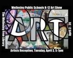 WPS K-12 Art Show Poster 2018